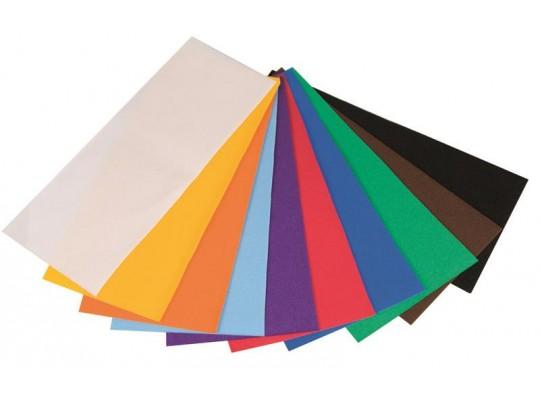 Sametový papír - sada                                                                                                                                                                                                                               (10ks)