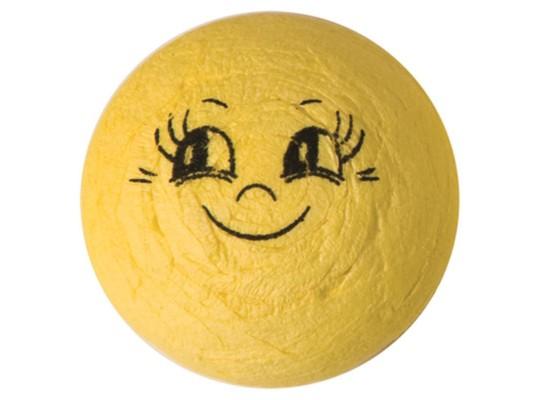 Vatový úsměv žlutý malý-sada