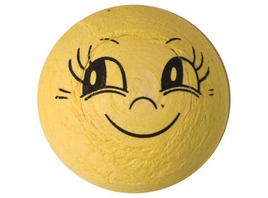 Vatový úsměv žlutý velký-sada
