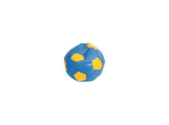 Sedací míč - modrý se žlutou