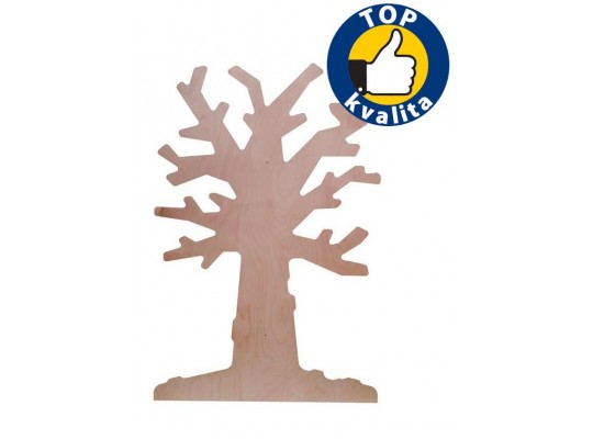Strom dřevěný na zeď-listnatý