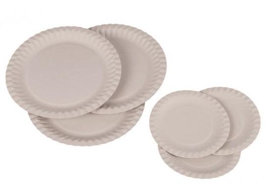 Talířek z papíru bílý-malý průměr 15cm
