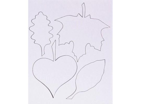 Listy z lepenky-sada