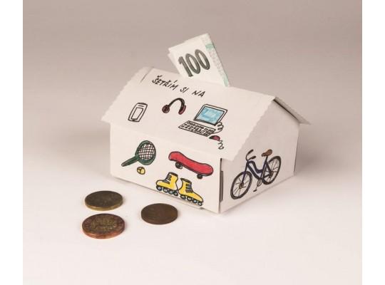 Pokladničky z kartonu                                                                                                                                                                                                                                (5ks)