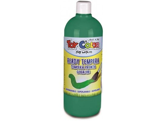 Barva temperová Toy Color-tmavě zelená 1000ml