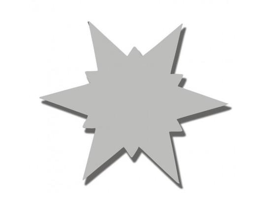 Hvězda z lepenky-malá průměr 13cm