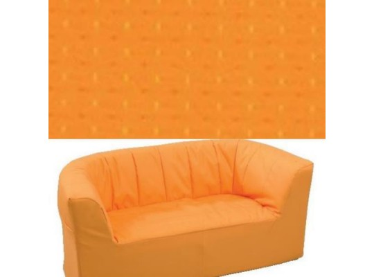 Dvojkřeslo Ramon - světle oranžová