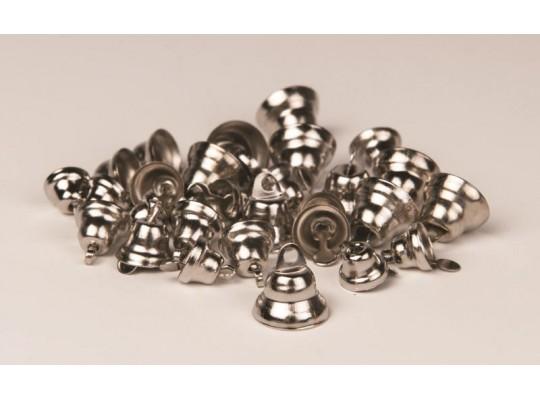 Zvonečky - stříbrné (30ks)