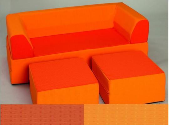 Sedací souprava VARIO - oranžová