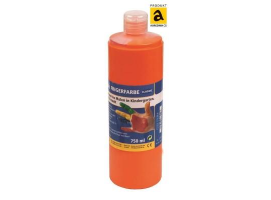 Barva prstová Aurednik-oranžová 750ml