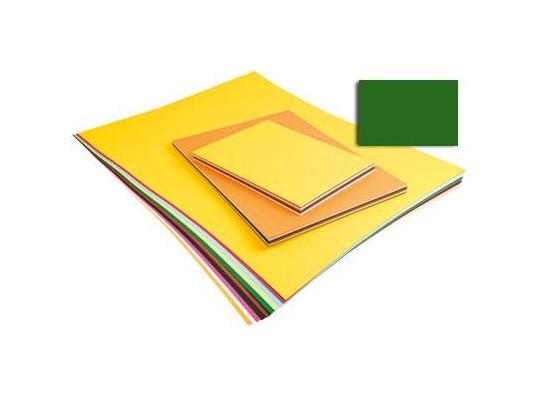 Unikarton 50x70cm -  tmavě zelený