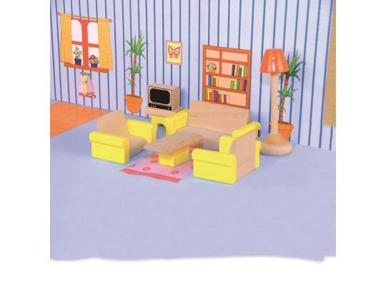 Nábytek do domečku - Obývací pokoj