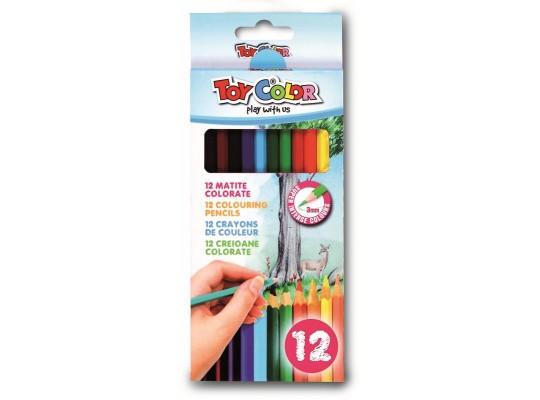 Pastelky Toy Color slabé (12)