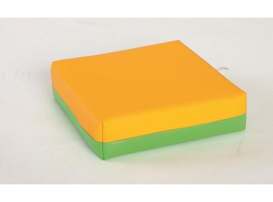 Polštářek sedací - žlutozelený