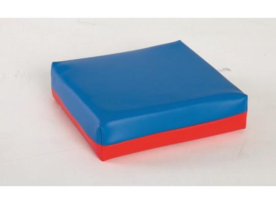 Polštářek sedací - modročervený