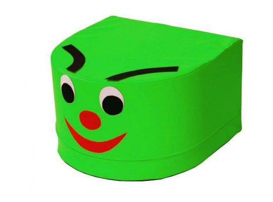 Stavebnice housenka hlava zelená