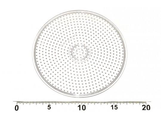 Zažehlovací midi destička transparentní kruh