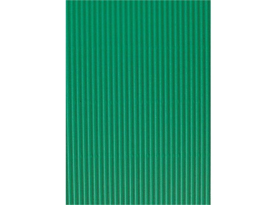 Vlnitá lepenka-tmavě zelená