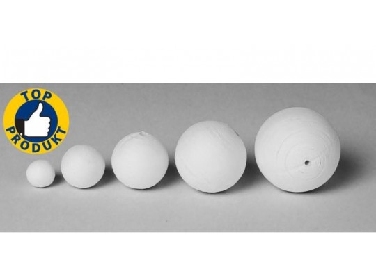 Vatové koule bílé - průměr 6 cm (10ks)