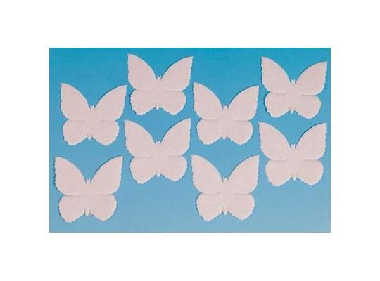 Bavlna k pomalování-motýli