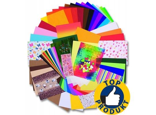 Kreativní sada papírů-322 dílů