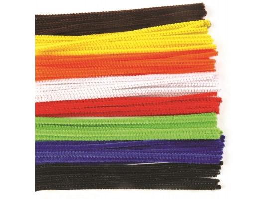 Chlupaté drátky barevné slabé                                                                                                                                                                                                                      (100ks)
