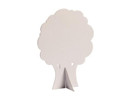 Strom z lepenky-26x19cm-malý-listnatý