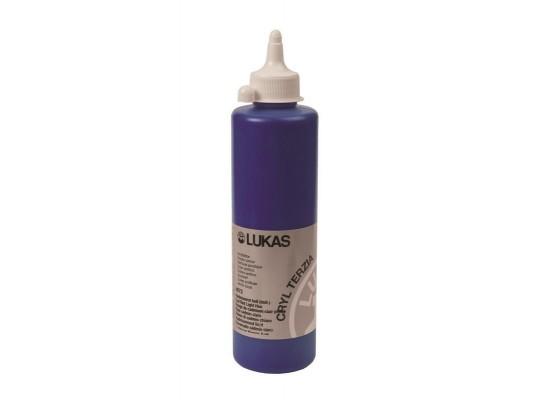 Barva akrylová 500ml-modrá