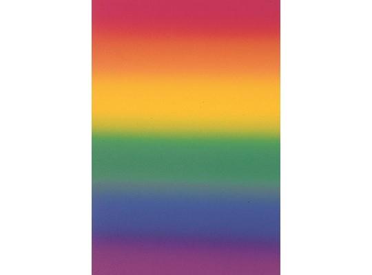 Papír transparentní 20x52cm-duha
