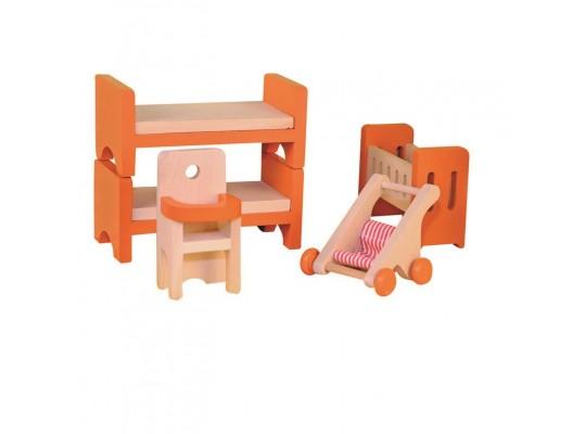 Domeček nábytek-dětský pokoj