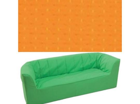 Trojkřeslo Ramon - světle oranžová