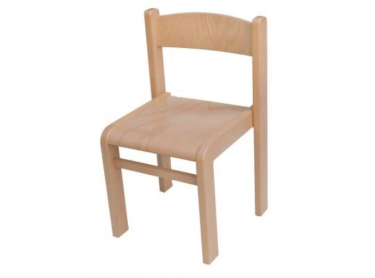 Židle dětská přírodní-výška 34cm