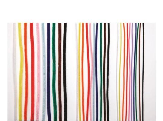 Chlupaté drátky - bílé                                                                                                                                                                                                                              (10ks)