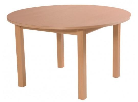 Stůl kruh průměr 123cm-výška 52cm