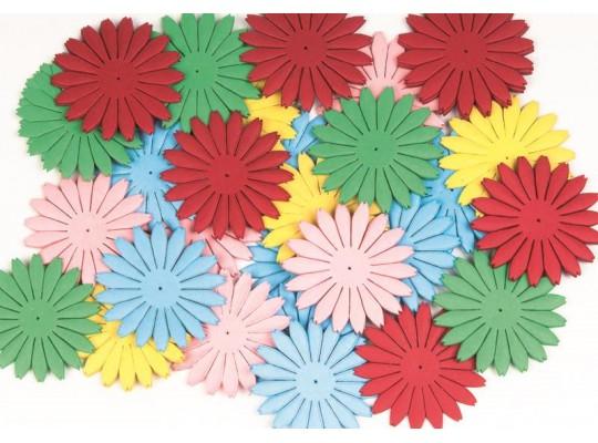 Kytičky papírové velké                                                                                                                                                                                                                             (100ks)