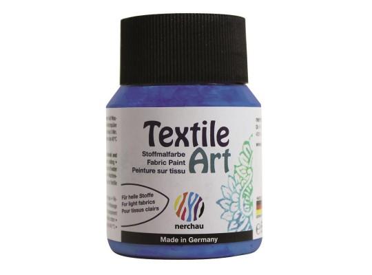 Barva na textil-modrá