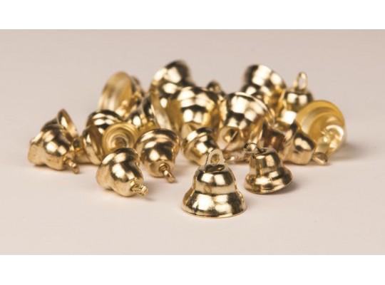 Zvonečky - zlaté (30ks)