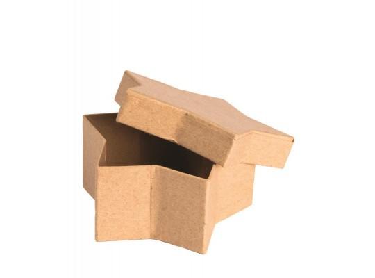 Krabička z lepenky-hvězda