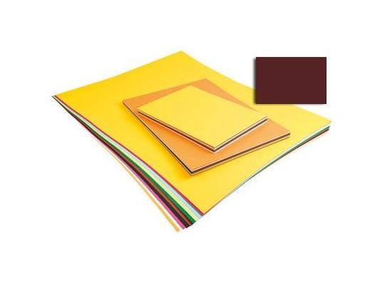 Unikarton 50x70cm -  tmavě hnědý