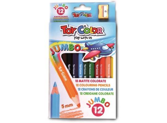 Pastelky Toy Color silné