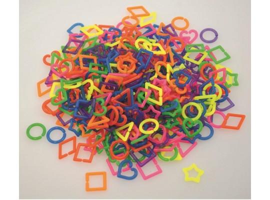 Plastové tvary spojovací (500ks)