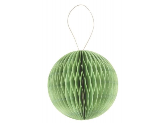 Papír plástvový-balónek-zelený-20g/m2-pr.8cm