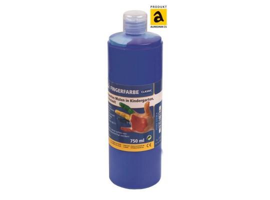 Prstová barva Aurednik modrá 750 ml