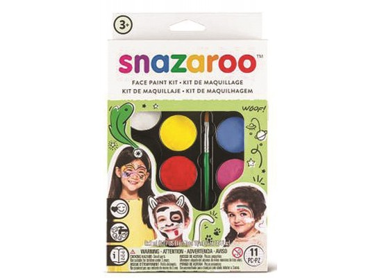 Barvy na obličej Snazaroo