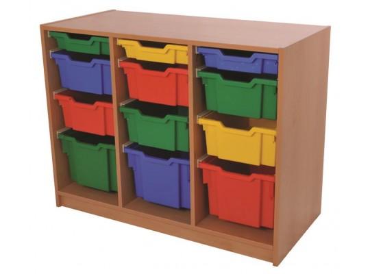 Skříňka - 12 boxů