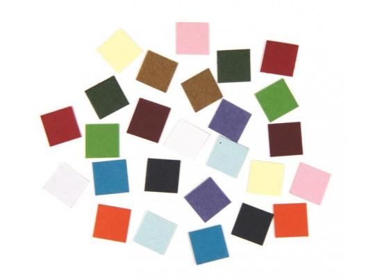 Mozaika z papíru barevná