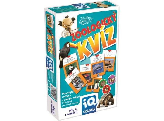 Zoologický kvíz-hra desková
