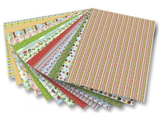 Blok motivy zahradní