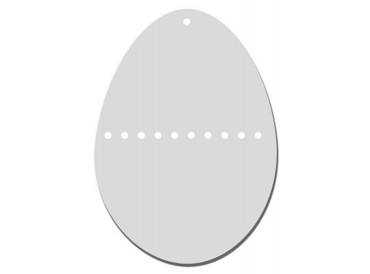 Vajíčka z lepenky- otvory (5ks)