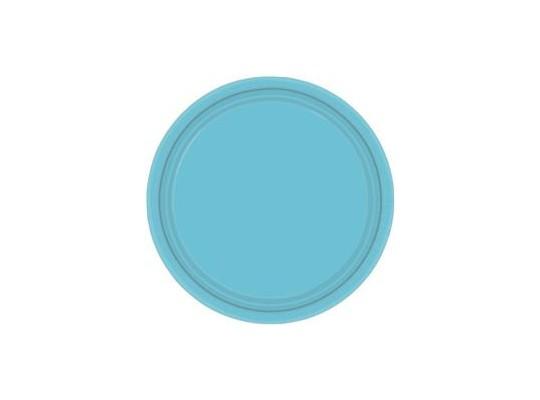 Talířek z papíru barevný-modrý